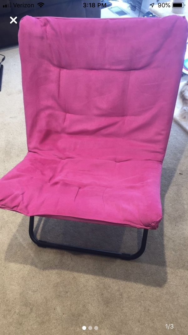 Pink Comfy Chair
