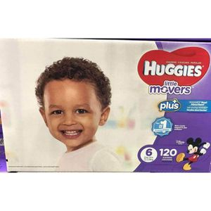HUGGIES LITTLE MOVERS SIZE 6!!!! for Sale in Seattle, WA