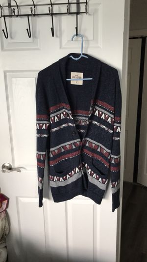 Mens Hollister Shawl Cardigan for Sale in Cherry Hill, NJ