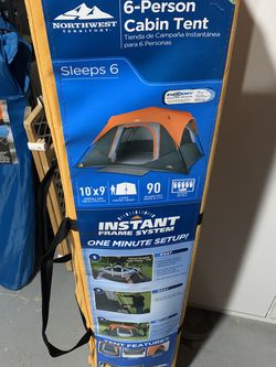 Six Person Cabin Tent Instant for Sale in Sterling,  VA