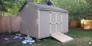 BRAND NEW ALL WOOD 12X10X9 COTTAGE STYLE SHED for Sale in Norfolk, VA