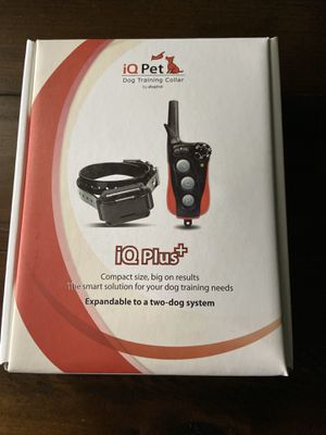 iQ Pet- Dog Training Collar for Sale in Lockport, IL