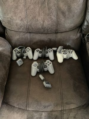 Ps2 controllers for Sale in Manteca, CA