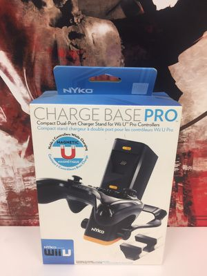 Wiiu charge base for Sale in Baltimore, MD