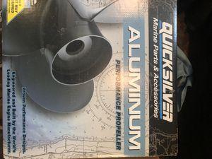 Quicksilver aluminum propeller for Sale in Millbury, MA