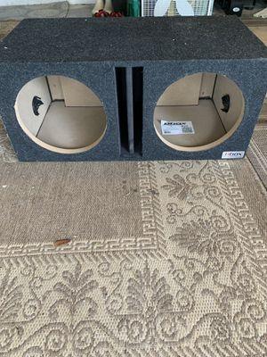 Subwoofer box 2 12s for Sale in Vero Beach, FL