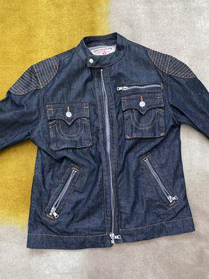 Men True Religion Moto Jacket for Sale in Fort Washington, MD