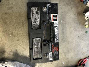 Car/ truck battery 12 V 1050 CA 925 CCA for Sale in Bothell, WA