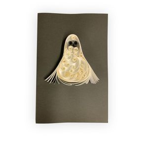 Handmade Quilling Christmas Card Penguin for Sale in Norfolk, VA