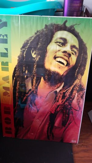 Large bob Marley cardboard poster for Sale in Valparaiso, FL