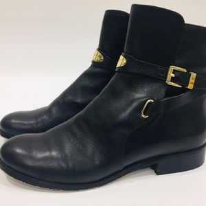 Michael Kors Leather Black Boots 10 for Sale in Anaheim, CA