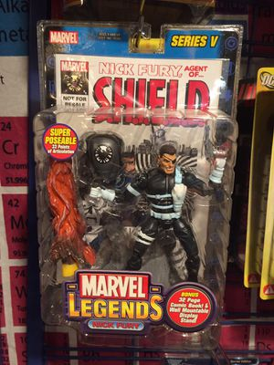 Marvel Legends Nick Fury Action Figure for Sale in Tacoma, WA