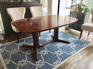 Danish Modern Rosewood Dining Table (no leaves) for Sale in Houston, TX