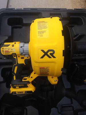 Dewalt 20v xr brushless drain Snake nueva con batería y cargador for Sale in Moreno Valley, CA