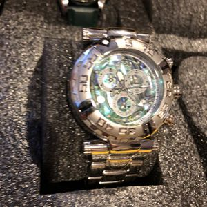 Invicta Pearl Face Stainless Steel Watch for Sale in Sloan, NV
