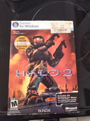 Halo 2 for Windows PC (extremely rare) for Sale in Boynton Beach, FL