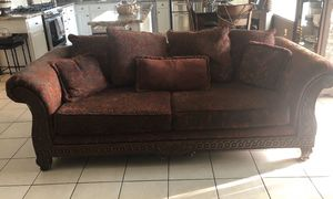 Sofa, love seat, and a chair for Sale in Visalia, CA