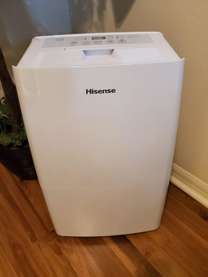 Hisense 50 Pint 2-Speed Dehumidifier (DH50K1W) for Sale in NEW PRT RCHY, FL