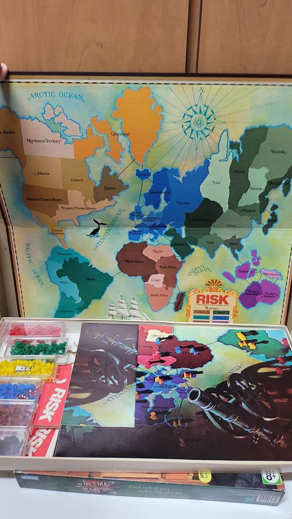 Vintage Risk Board Game + Bonus