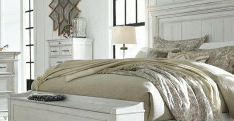 [SPECIAL] Kanwyn Whitewash Storage Bedroom Set for Sale in Washington,  DC