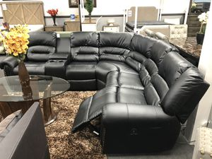 3PC Black Reclining Sofa Sectional on SALE 🔥 for Sale in Fresno, CA