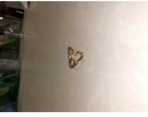 Elsa Peretti Tiffany & Co Open Heart Ring 18k rose gold size 6 for Sale in Derwood, MD