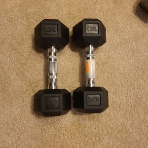 10lb Hex Dumbells (Pair Of 2) for Sale in Kirkland, WA