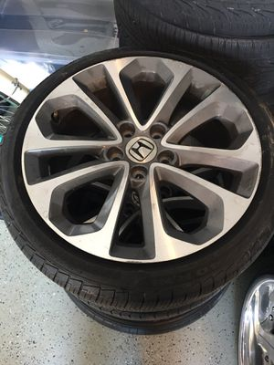 """5x114 rims and tire 18"""" for Sale in Huntington Beach, CA"""