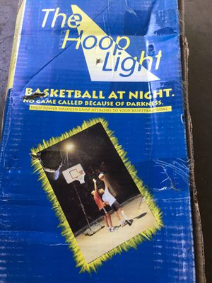 Basketball hoop light for Sale in Fort Worth, TX