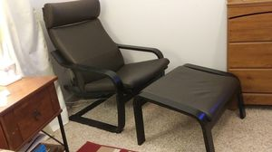 IKEA chair with footstool for Sale in Boiling Springs, SC