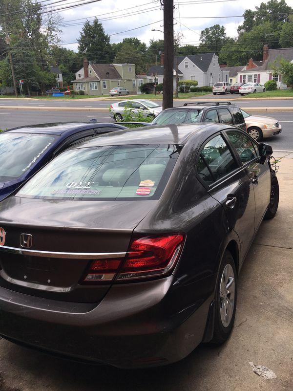 2013 Honda Civic( PARTS ONLY)