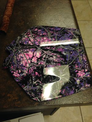 HYDRODIPPED MOTORCYCLE PARTS, for Sale in San Antonio, TX