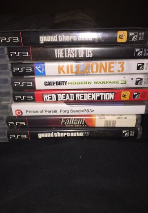 PS3 games for Sale in Duvall, WA