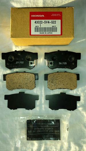 Honda Accord Acura TSX & Legend Rear Brake Pads for Sale in MONARCH BAY, CA