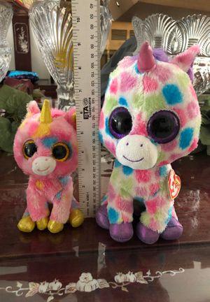 TY unicorn plushy new $4 for Sale in Riverside, CA