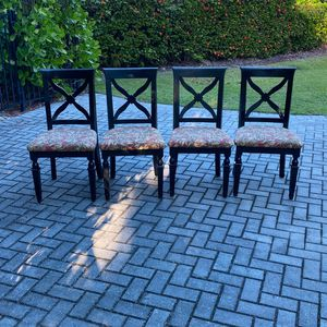Set Of Beautiful 4 Chairs for Sale in Naples, FL