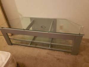 Glass entertainment center for Sale in Damascus, OR