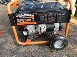 Generac gp5500 generator for Sale in Manchester, CT