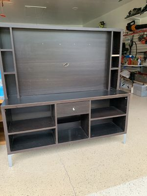 tv stand good condition length 55 width 16 for Sale in Fort Mill, SC