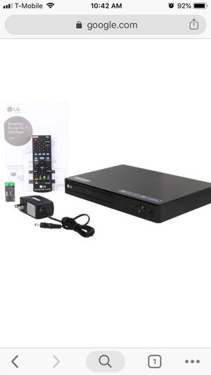LG Blueray Disc Player new in box for Sale in Tampa, FL