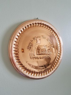 Copper Colored Decorative Wall Plate for Sale in Talleyville, DE
