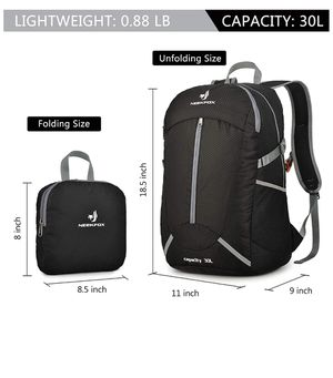 Brand new Lightweight Packable Hiking Backpack 30L Travel Hiking Daypack (pick up only) for Sale in Alexandria, VA