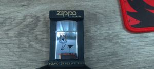 U.S.S. Forrestal CV 59 High Polish Chrome Slim Zippo Cigarette Lighter for Sale in Alexandria, VA