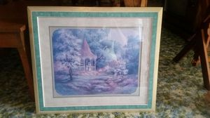 PICTURE WITH GAZEBO GARDEN SCENERY for Sale in Washington, IL