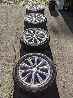 "Acura TSX 17"" Alloy Wheels and Tires for Sale in Centralia, WA"