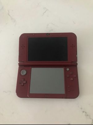 Nintendo 3DS XL (red) includes charger, stylus, and 3 games for Sale in Haslet, TX
