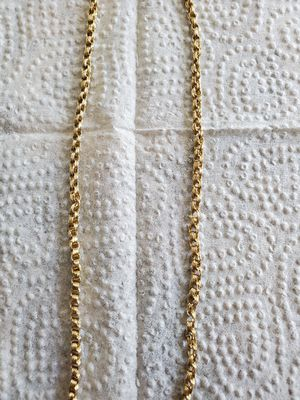 """21"""" 10k gold chain for Sale in Watauga, TX"""
