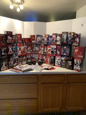 65 Arizona Dback Bobbleheads. New in boxes. Scottsdale for Sale in Tempe, AZ