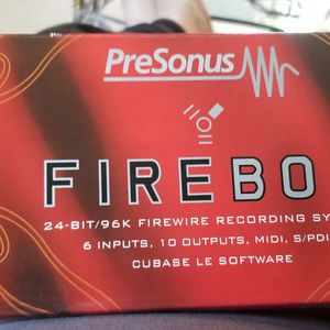 FiREBOX Recording System 24-bit/96K for Sale in Harrisburg, PA