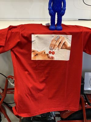 Supreme Cherries 🍒 Tee Red size Medium for Sale in Sterling Heights, MI